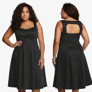 Torrid Polka For Swing Dress size 14